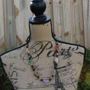 3/$10 Multicolor Bead Necklace